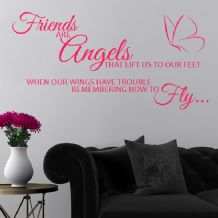 Friends are Angels~ Wall sticker / decals